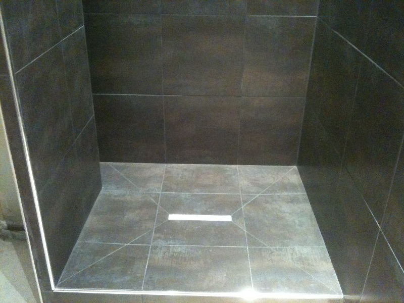 Poser carrelage bac de douche for Carrelage de douche