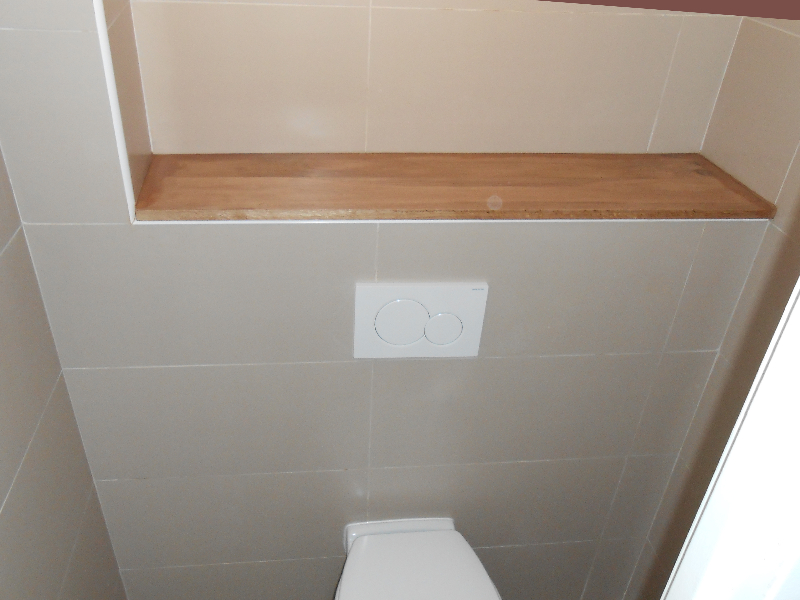 Poser du carrelage toilette suspendu for Carrelage de wc