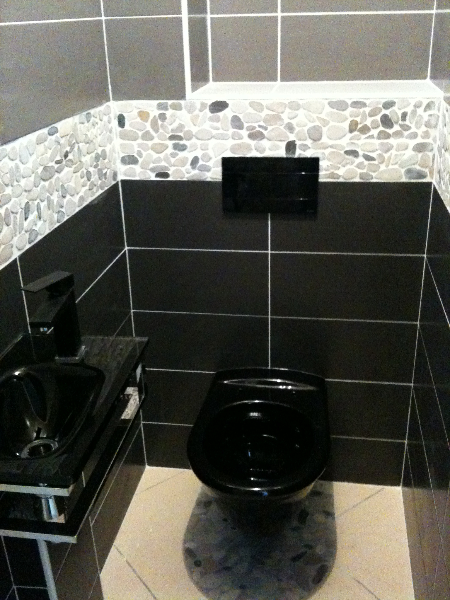 Pose installation de wc cuvette suspendu installation for Modele carrelage toilette